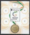 Гибралтар 2010 год, XIX Игры Содружества, Медаль, блок.