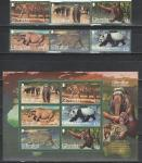 Гибралтар 2011 г, Фауна, 6 марок + блок (н