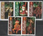 Гибралтар 2009 год, Новый Год, 5 марок.