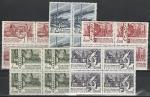 СССР 1967, 50 лет Соц.Строительству в СССР, 5 квартблоков
