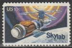США 1974 г, Скайлаб, 1 марка.