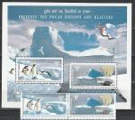 Индия 2009, Арктика, Антарктика, пара марок + блок)