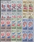СССР 1977 год, 20 лет Космической Эры, 6 квартблоков