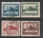 СССР 1925 г, Мавзолей Ленина, 4 гашёные марки