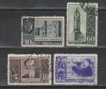СССР 1940 год, К. Тимирязев, 4 гашёные марки