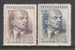 Ленин, 25 лет со Дня Смерти, ЧССР 1949, 2 марки