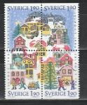 Швеция 1986 год, Рождество, квартблок.