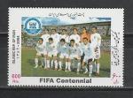 Иран 2004 г, Футбол, 100 лет FIFA, 1 марка. (142,2966)