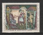 Франция 1969 год. Искусство. Фрески. 1 марка.
