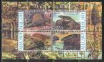 Малави 2010 г, Динозавры, Демитродон, малый лист