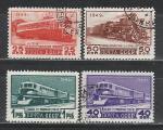 СССР 1949 год, Транспорт, 4 гашёные марки