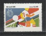 Бразилия 1989 г, Футбольный Клуб BAHIA, 1 марка (н