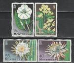 Монтсеррат 1977 год, Цветы, 4 марки