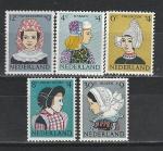 Национальные Костюмы, Нидерланды 1960, 5 марок