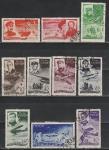 СССР 1935 год, Спасение Челюскинцев, 10 гашёных марок