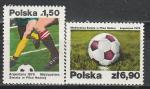 Польша 1978 год, Футбол, Чемпионат Мира в Аргентине, 2 марки