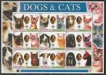 Афганистан 2003 год, Кошки, Собаки, 2 малых листа.
