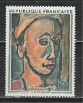 Франция 1971 год. Живопись. Жорж Руо. 1 марка
