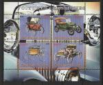Конго 2009 г, Ретро Автомобили, малый лист.