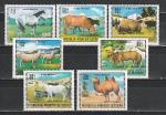 Домашние Животные, Монголия 1971 год, 7 марок