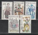 Керамические Игрушки, ЧССР 1978 год, 5 марок