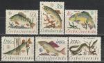 ЧССР 1966 год. Чемпионат мира по рыбалке. 6 марок. (н