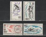 Спорт, ЧССР 1967 г, 4 марки
