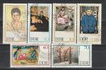 ГДР 1967, Живопись, 6 гаш. марок