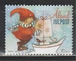 Новый Год, Рождество, Аланды 2012 год, 1 марка
