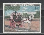 Франция 1967 год. Живопись. Картина Анри Руссо. 1 марка.