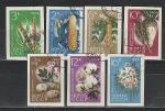 СССР 1964, Сельхозкультуры, 7 гаш. марок без зубцов