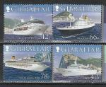 Круизные Суда, Гибралтар 2006 г, 4 марки