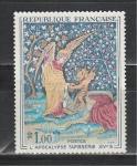 Франция 1965 год. Искусство. Гобелен. 1 марка