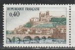 Франция 1968 год, Мост, 1 марка.