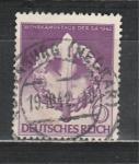Рейх 1942 год, Эмблема, Меч в Венке, 1 гашёная марка.