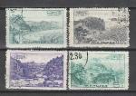 Санатории и Дома Отдыха, КНДР 1966 г, 4 гашёные марки