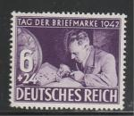 Рейх 1942 год, Филателист, 1 марка