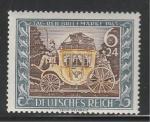 Рейх 1943 год. Почтовый дилижанс. 1 марка