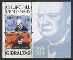 Гибралтар 1974 год, У. Черчилль, блок