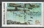 Маршалловы Острова 1994 год, История 2-й Мировой войны, Бомбардировки Германии, 1 марка.  (н72)