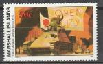 Маршалловы Острова 1992 год, История 2-й Мировой, Японцы на Манилах, 1 марка. (н32)