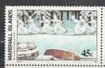 Маршалловы Острова 1989 год, Советско - Финская Война, 1 марка. (н3)