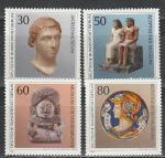 Западный Берлин 1984 г, Экспонаты Берлинского Музея, 4 марки.