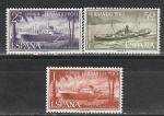 Фернандо По 1962, Корабли, 3 марки