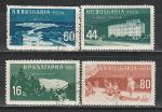 Курорты, Болгария 1958 год, 4 гашёные марки