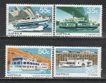 Австралия 1979 г, Пассажирские Корабли, 4 марки. (н