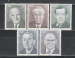 Персоналии, ГДР 1983 год, 5 марок