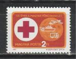 100 лет Венгерскому Красному Кресту, Венгрия 1981, 1 марка