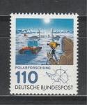 ФРГ 1981 г, Исследования Антарктиды, 1 марка.