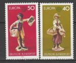 ФРГ 1976, Европа, Статуэтки, 2 марки